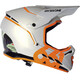 SixSixOne Reset Bike Helmet orange/white